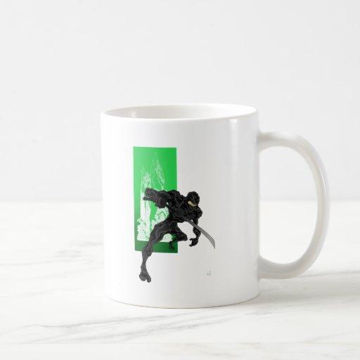 Perspectiva de Ninja Tazas De Café