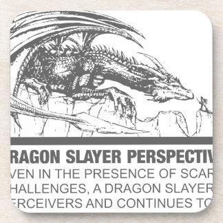 Perspectiva del asesino del dragón posavasos