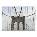 Perspectiva del puente de Brooklyn Felicitacion