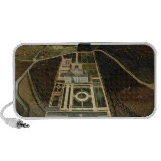 Perspectiva del sur del Hampton Court, Herefordshi iPhone Altavoces