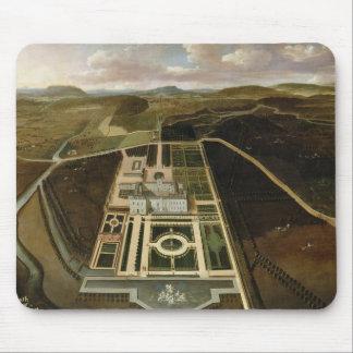 Perspectiva del sur del Hampton Court, Herefordshi Tapetes De Ratón