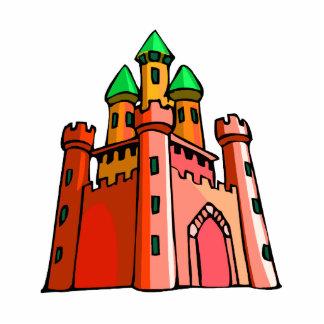 Perspective castle graphic photo sculpture