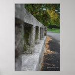 Perspective Concrete Bridge Photograph Print