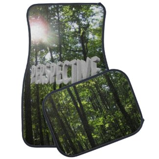 Perspective Forest Car Floor Mats Car Mat