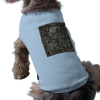 Perspective Illusion Greek Stret Dictionary Art Doggie Shirt