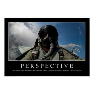 Perspective: Inspirational Quote 2 Poster
