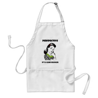 Perspective - It's a Game Changer Adult Apron