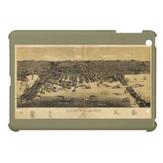 Perspective Map of Duluth Minnesota (1887) Cover For The iPad Mini