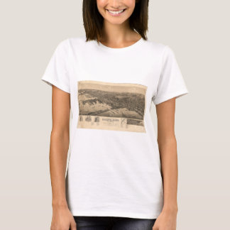 Perspective Map of Duluth Minnesota (1893) T-Shirt