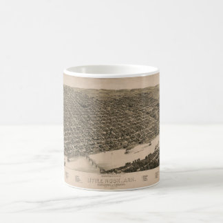 Perspective Map of Little Rock, Arkansas (1887) Coffee Mug