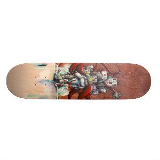 Perspective Metamorphosis Skateboard Deck