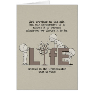 Perspective of Life Card
