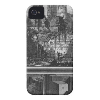 Perspective of one of the sides, and construction iPhone 4 cover