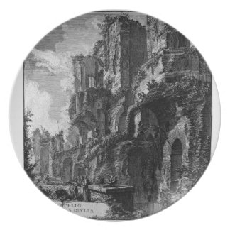 Perspective of the rear Giovanni Battista Piranesi Dinner Plate