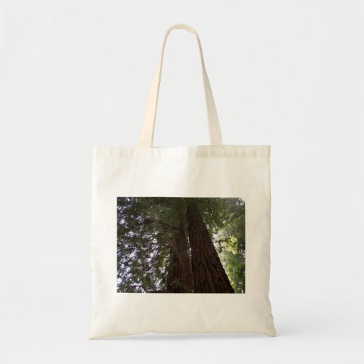 Perspective of the redwoods canvas bags