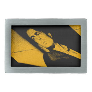 Perspective OUTSIDERS PERSPECTIVE OF OUTSIDE Rectangular Belt Buckle