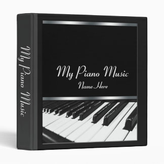 Perspective Piano Keys Music Binder