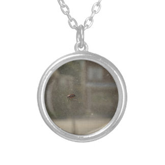 Perspective Round Pendant Necklace