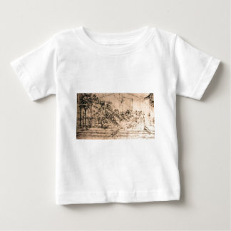 Perspective study for the Adoration of the Magi T-shirts