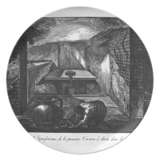 Perspective view by Giovanni Battista Piranesi Plate