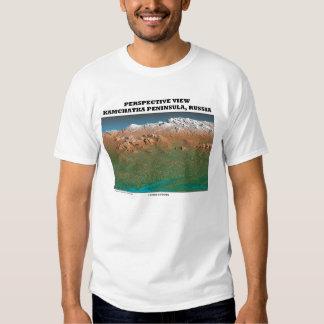 Perspective View Kamchatka Peninsula,. Russia Tee Shirt