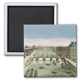Perspective View of Paris from the Pont Royal Magnet