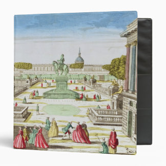 Perspective View of Place Louis XV 3 Ring Binder