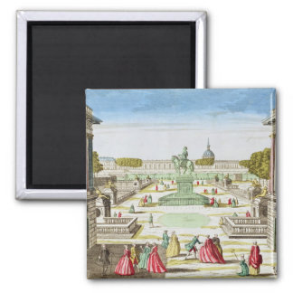 Perspective View of Place Louis XV Magnet