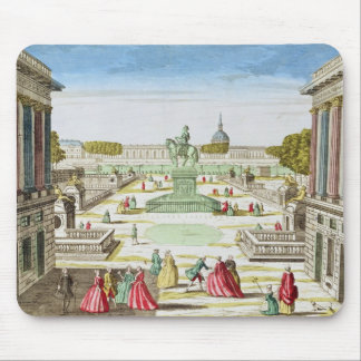 Perspective View of Place Louis XV Mouse Pad