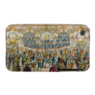 Perspective View of the Ballroom, constructed in t Case-Mate iPhone 3 Case