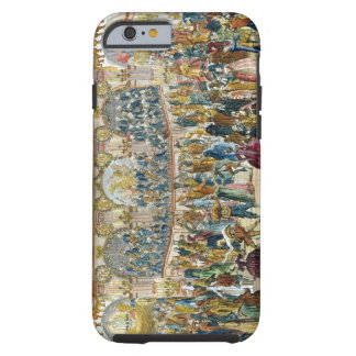 Perspective View of the Ballroom, constructed in t Tough iPhone 6 Case
