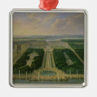 Perspective view of the chateau ornament