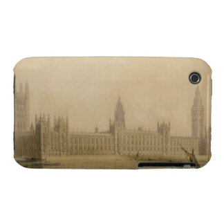 Perspective View of the new Houses of Parliament, iPhone 3 Case-Mate Case