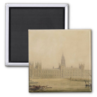 Perspective View of the new Houses of Parliament Magnets