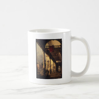 Perspective with a Portico Coffee Mug