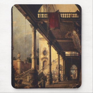 Perspective with a Portico Mouse Pad