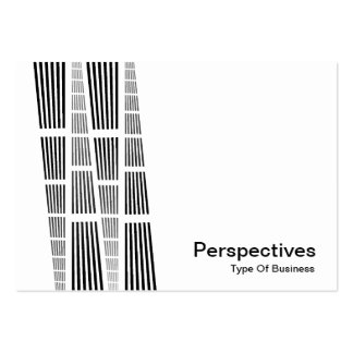 Perspectives v2 - Black and White Business Card Templates