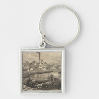 Persse and Brooks' Paper Works Key Chains