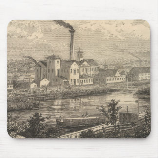 Persse and Brooks' Paper Works Mouse Pad