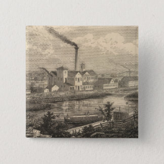 Persse and Brooks' Paper Works Pinback Button