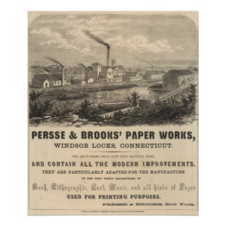 Persse and Brooks' Paper Works Posters