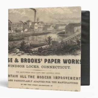 Persse y los trabajos de papel de los arroyos