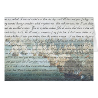 Persuasion Letter Card