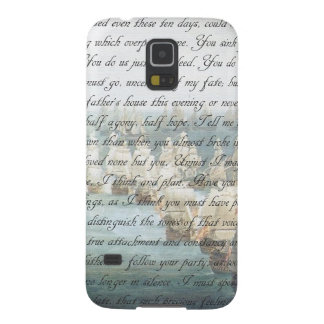 Persuasion Letter Case For Galaxy S5