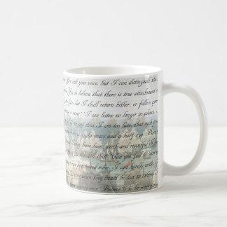 Persuasion Letter Coffee Mug