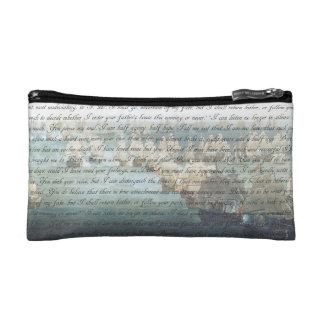 Persuasion Letter Cosmetic Bag