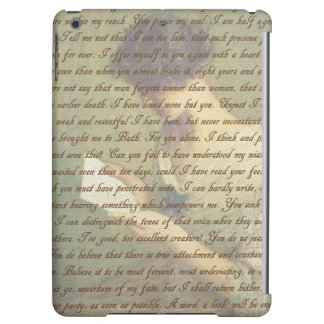 Persuasion Letter iPad Air Covers