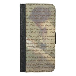 Persuasion Letter iPhone 6/6s Plus Wallet Case