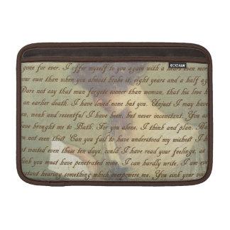 Persuasion Letter MacBook Sleeve