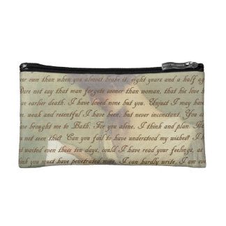 Persuasion Letter Makeup Bag